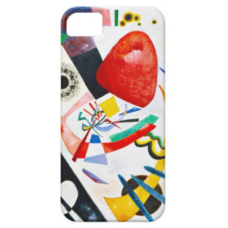 Kandinsky Red Spot iPhone 5 Covers