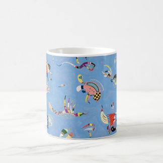 Kandinsky Sky Blue Mug