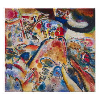 Kandinsky Small Pleasures Poster