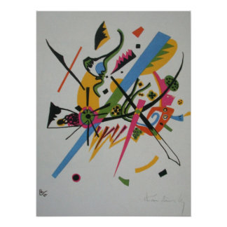 Kandinsky Small Worlds I Abstract Painting Poster