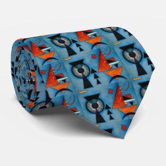 Kandinsky Soft Hard Abstract Tie
