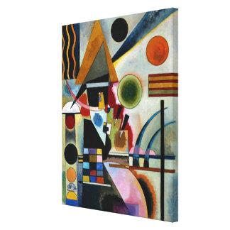 Kandinsky - Swinging Canvas Print