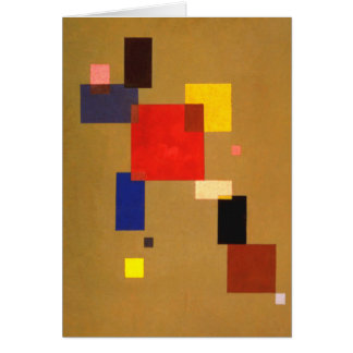 Kandinsky Thirteen Rectangles Abstract Painting Card