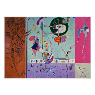 Kandinsky - Various Parts Poster