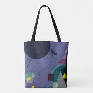 Kandinsky - Violet-Green Tote Bag