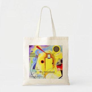 Kandinsky Yellow Red Blue Tote Bag