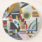 Kandinsky's Abstract Painting Swinging Coaster