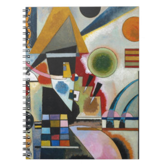 Kandinsky's Abstract Painting Swinging Spiral Notebook