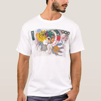 Kandinsky's Dominant Curve Abstract T-Shirt