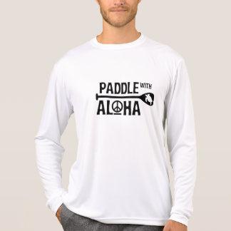 Kane Paddle with Aloha Rash Guard T-Shirt