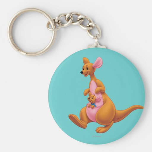 Kanga and Roo Keychain