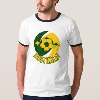 Kanga de ballon de football de l'Australie T-shirt