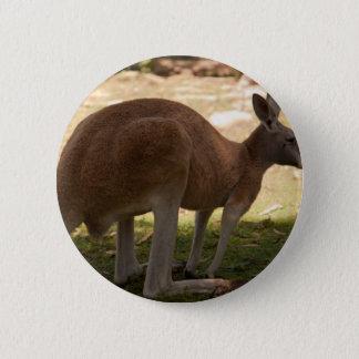 Kangaroo 2 Inch Round Button