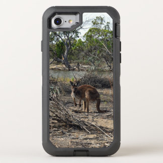 Kangaroo At Billabong, Otterbox  iPhone 7/8 Case.