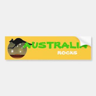 Kangaroo Aussie Icon Bumper Sticker