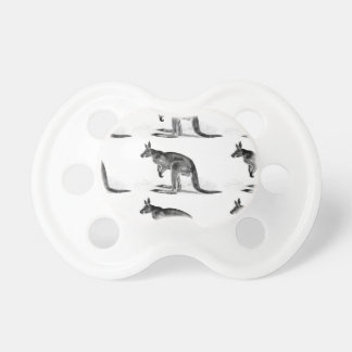 kangaroo boxed in square pacifier