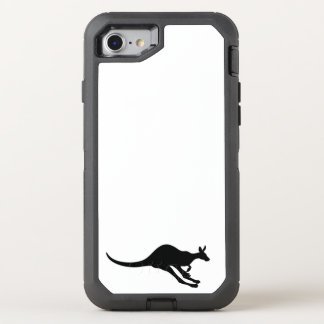 kangaroo cute baby animal fun joy happy beautiful OtterBox defender iPhone 8/7 case