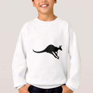 kangaroo cute baby animal fun joy happy beautiful sweatshirt