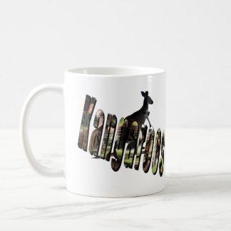 Kangaroo Dimensional Picture Logo Coffee Mug