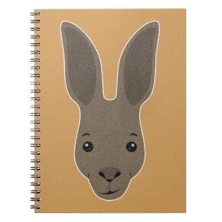Kangaroo Face Notebook