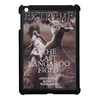 Kangaroo fight iPad mini case