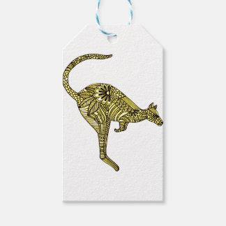 Kangaroo Gift Tags