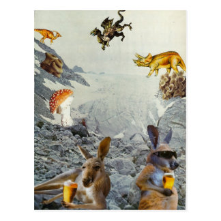 Kangaroo Holiday Postcards