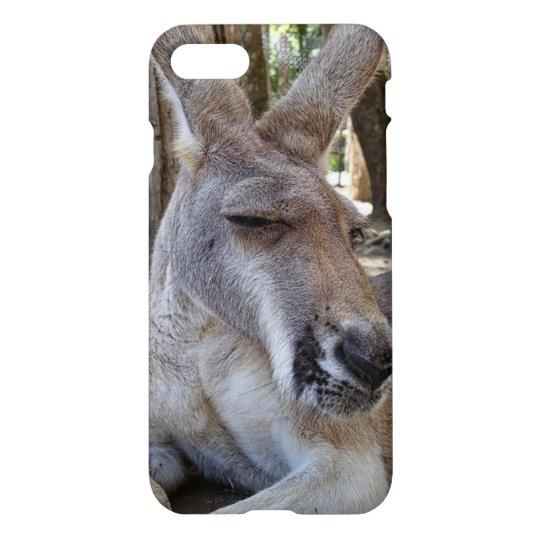 Kangaroo iPhone 7 Glossy Case