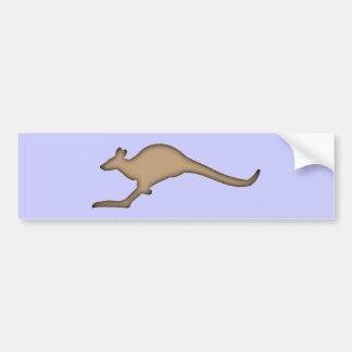 Kangaroo kangaroo bumper sticker