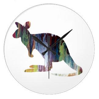 Kangaroo Large Clock
