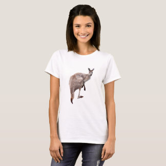 Kangaroo_Lookout,_Ladies_White_T-shirt T-Shirt