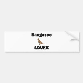 Kangaroo Lover Bumper Sticker