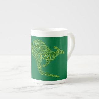 Kangaroo made of Australian slang Tea Cup
