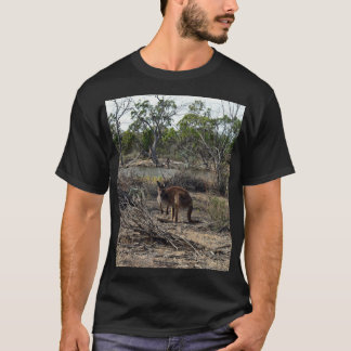 Kangaroo, Mean While At The Billabong, T-Shirt