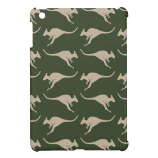 Kangaroo pattern iPad Mini case. iPad Mini Case