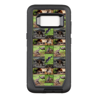 Kangaroo Photo Collage , OtterBox Defender Samsung Galaxy S8 Case