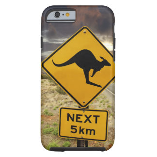 Kangaroo sign, Australia Tough iPhone 6 Case