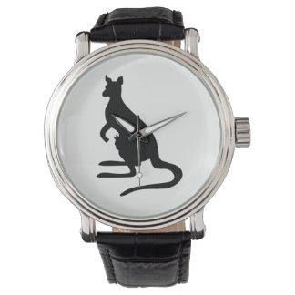Kangaroo Silhouette Watch