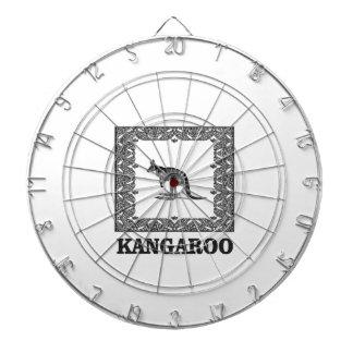 kangaroo squared dartboard