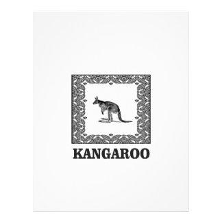 kangaroo squared letterhead
