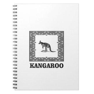 kangaroo squared notebook