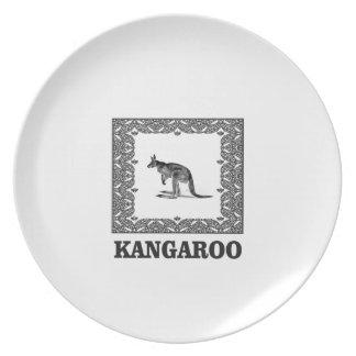 kangaroo squared plate