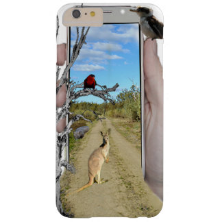 Kangaroo Telephone Express, Barely There iPhone 6 Plus Case