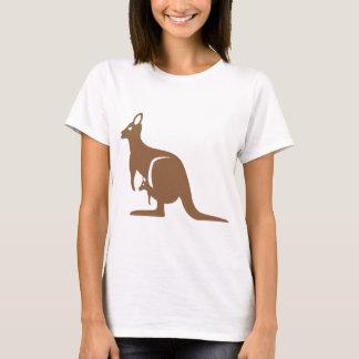 Kangaroo with baby T-Shirt