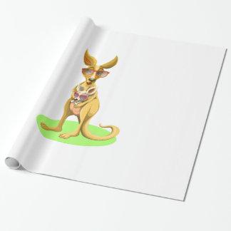 Kangaroo with glasses