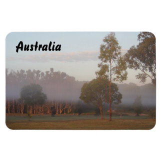 Kangaroos in the fog photo magnet