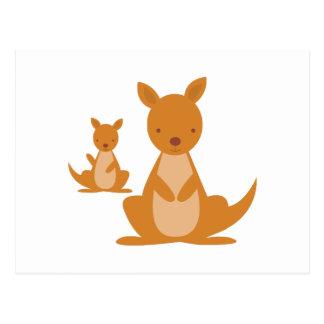 Kangaroos Postcard