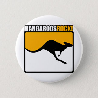 Kangaroos Rock! 2 Inch Round Button