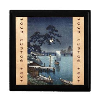 Kangetsu Bridge, Shimonoseki on Early Autumn Gift Box