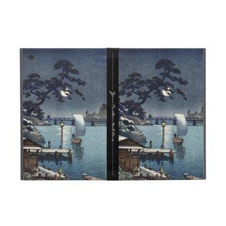 Kangetsu Bridge, Shimonoseki on Early Autumn iPad Mini Cases
